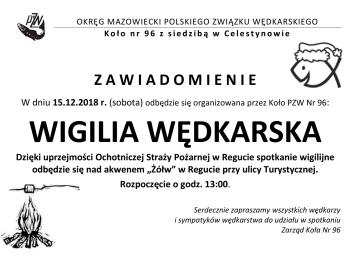 Wigilia wędkarska 2018!